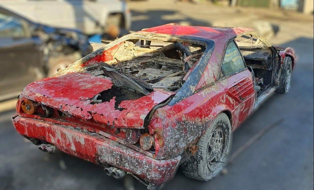 Stolen Ferrari Mondial recovered 2