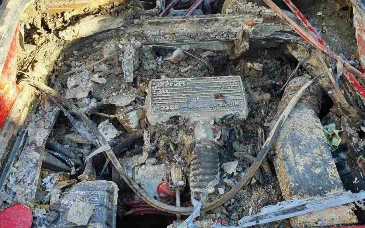 Stolen Ferrari Mondial recovered 3
