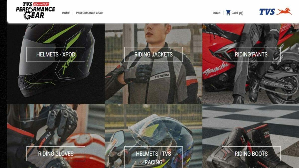 TVS Performance gear offer 1
