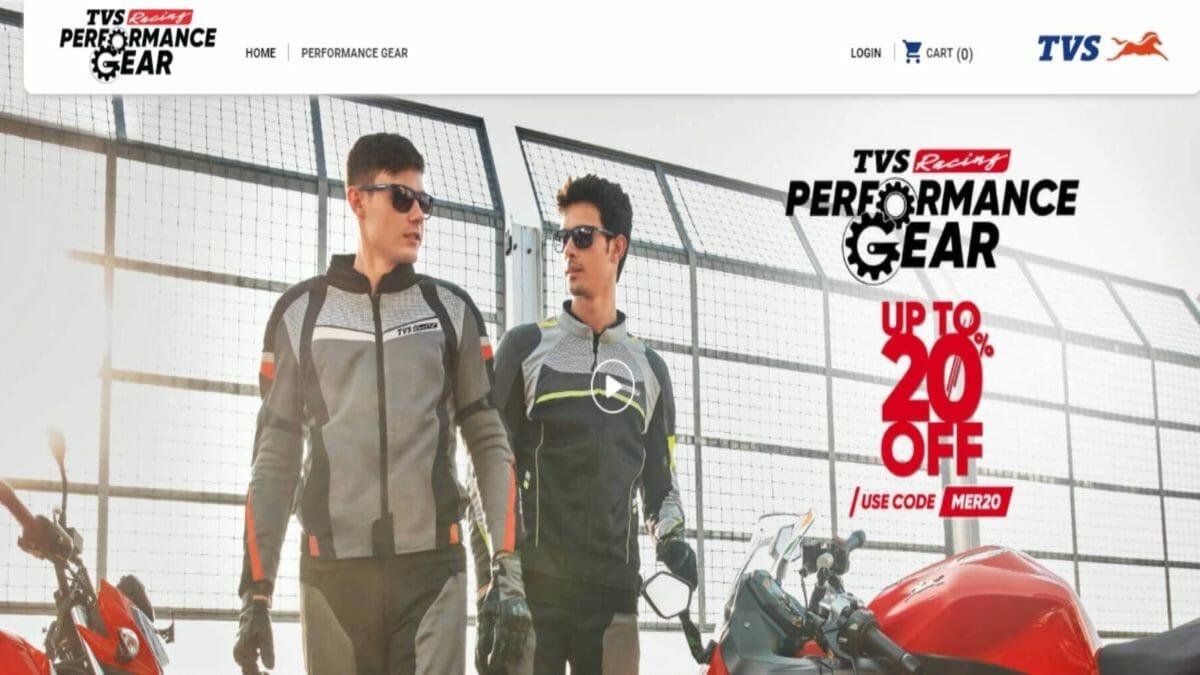 TVS Performance gear offer