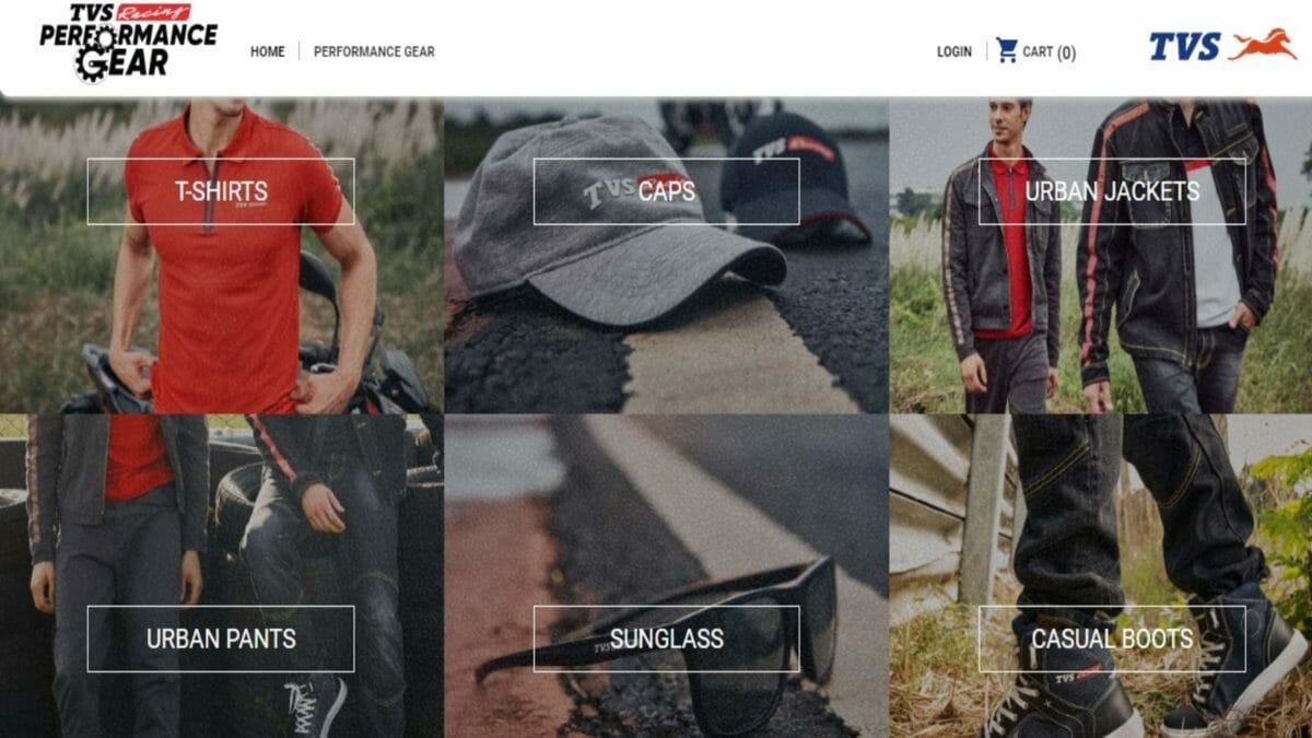 TVS Performance gear offer 2