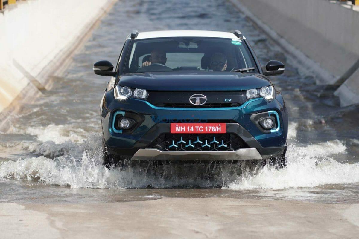 Tata Nexon EV – Water Wading Test