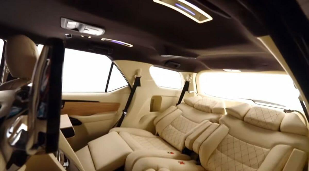 Toyota Fortuner DC Design captain seats
