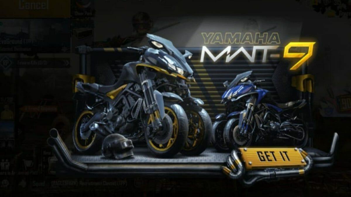 Yamaha PUBG Mobile 4