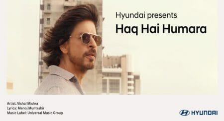 hyundai-Haq Hai Humara-SRK