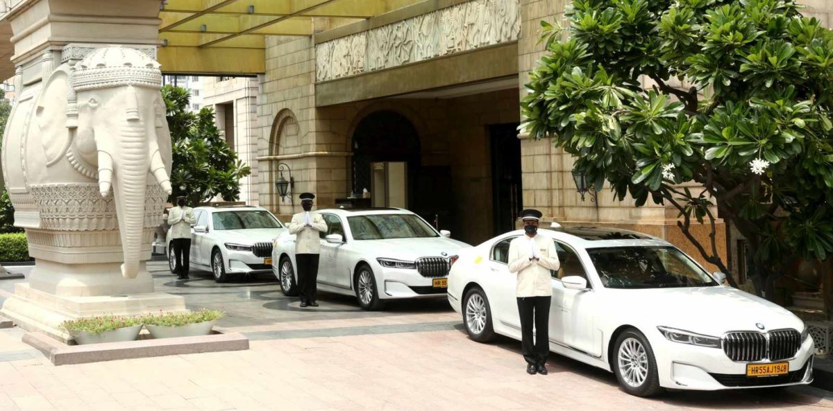 01 Image BMW fleet at The Leela Palace and Resorts