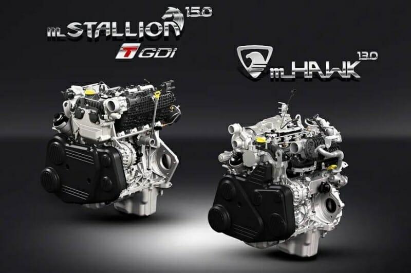 2020 Mahindra Thar engine