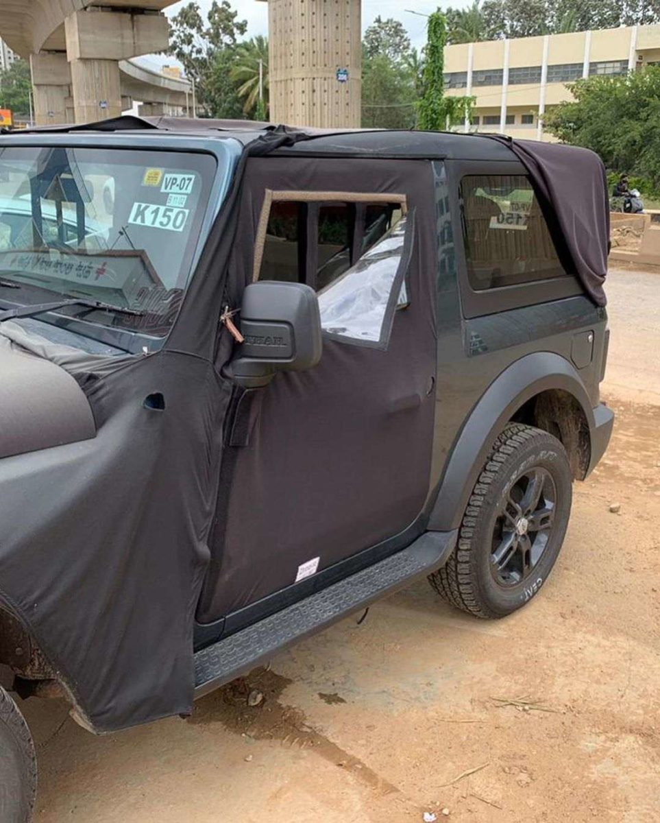2020 Mahindra Thar side profile
