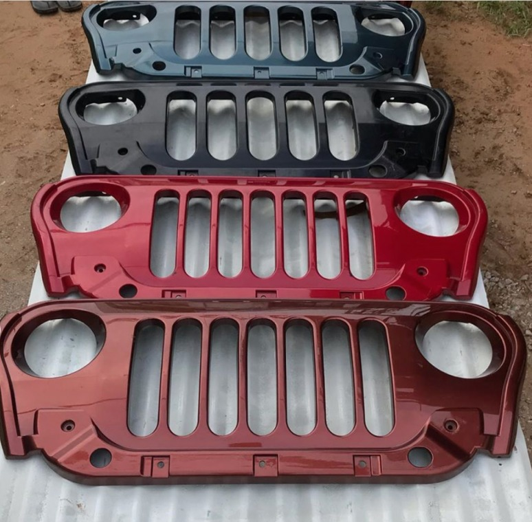 All new Mahindra Thar aftermarket grille (1)