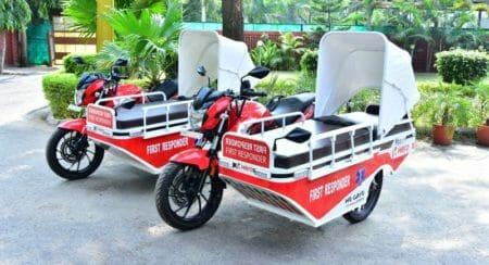 Hero MotoCorp-First Responder Vehicle
