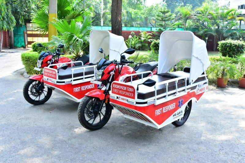 Hero MotoCorp First Responder Vehicle