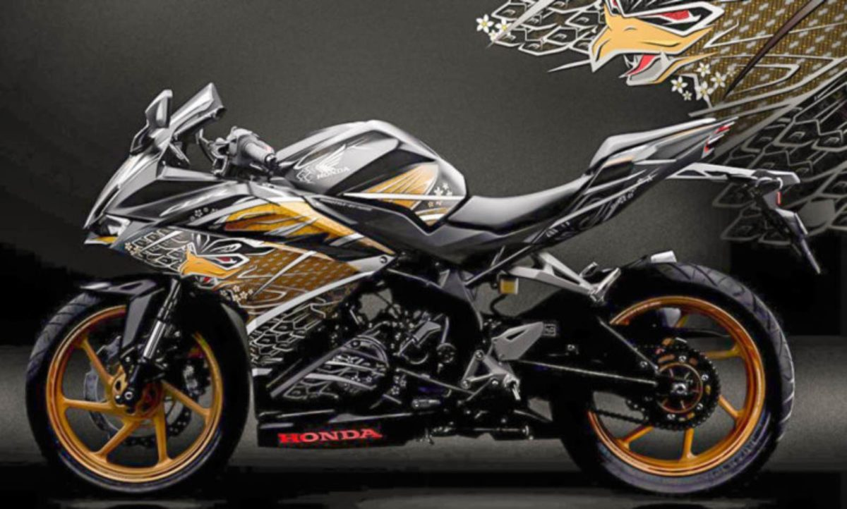Honda CBR250RR garuda Samurai edition (1)