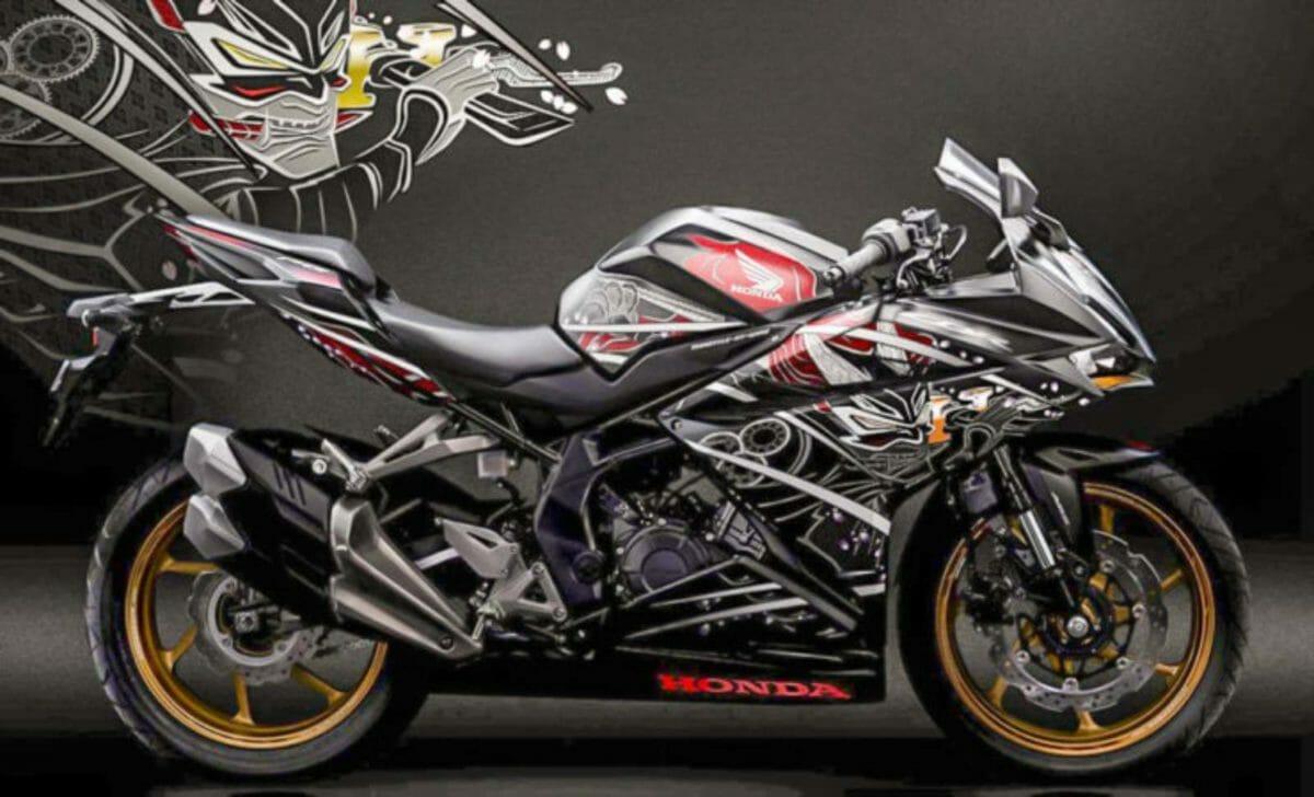 Honda CBR250RR garuda Samurai edition