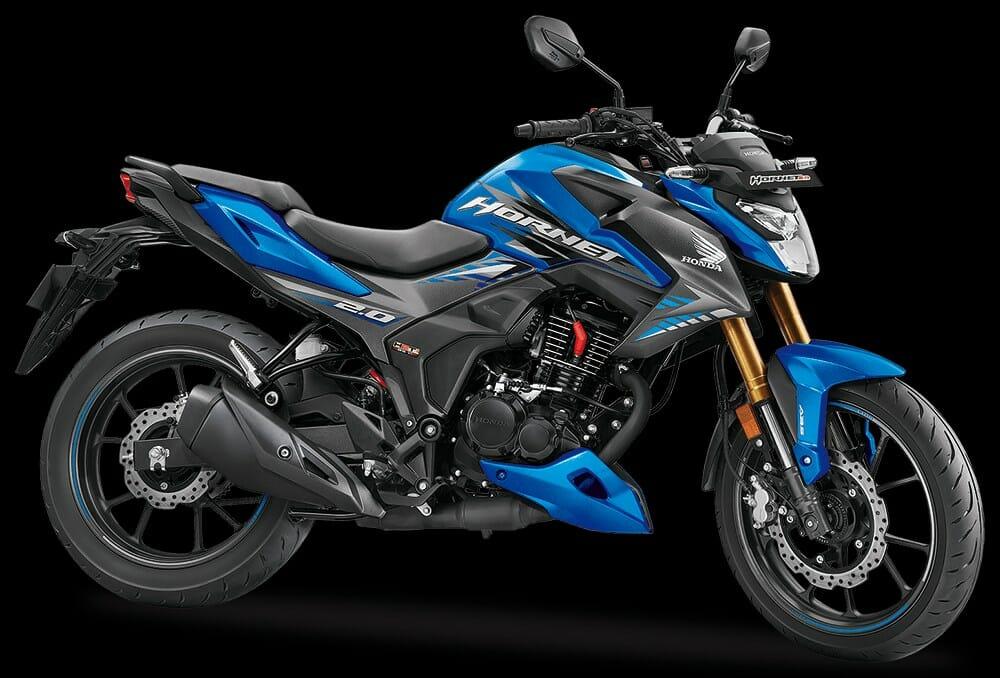 Honda Hornet 2.0MatTE Marvel Blue Metallic