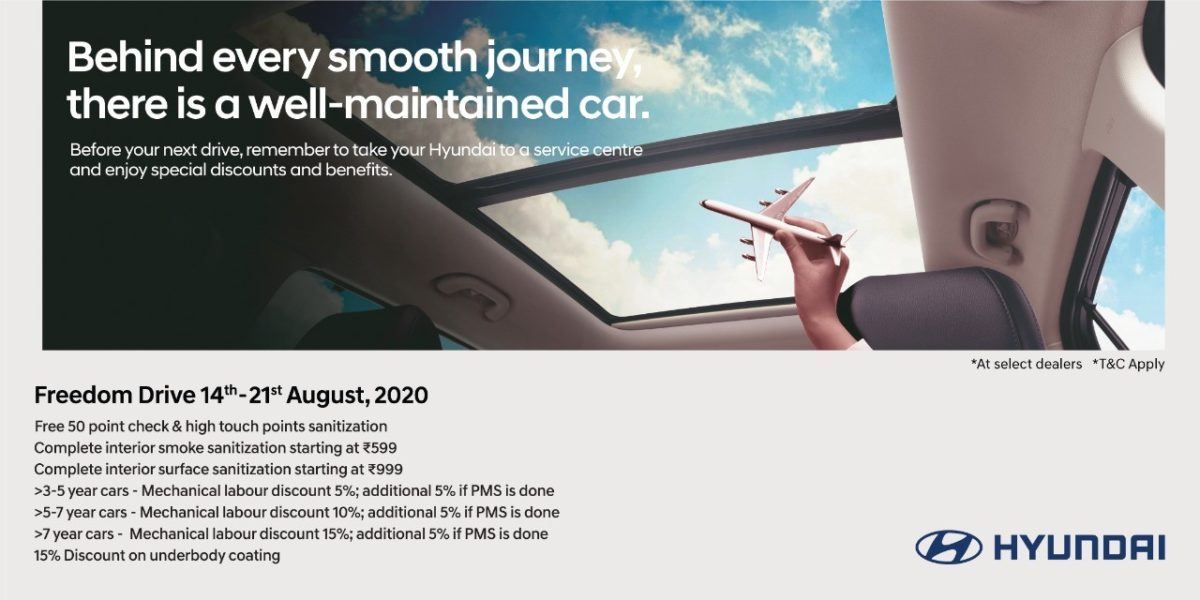 Hyundai India Freedom Drive