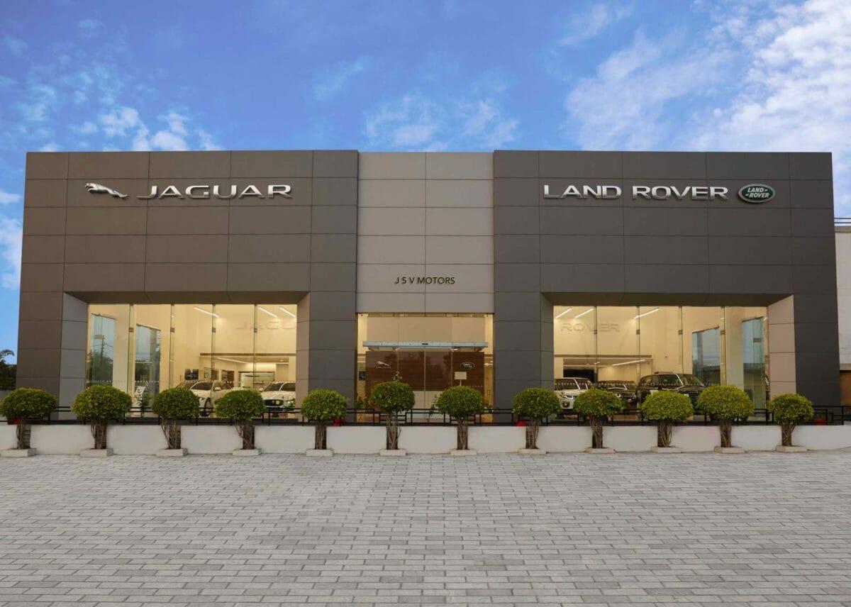 Jaguar land rover new retail facility