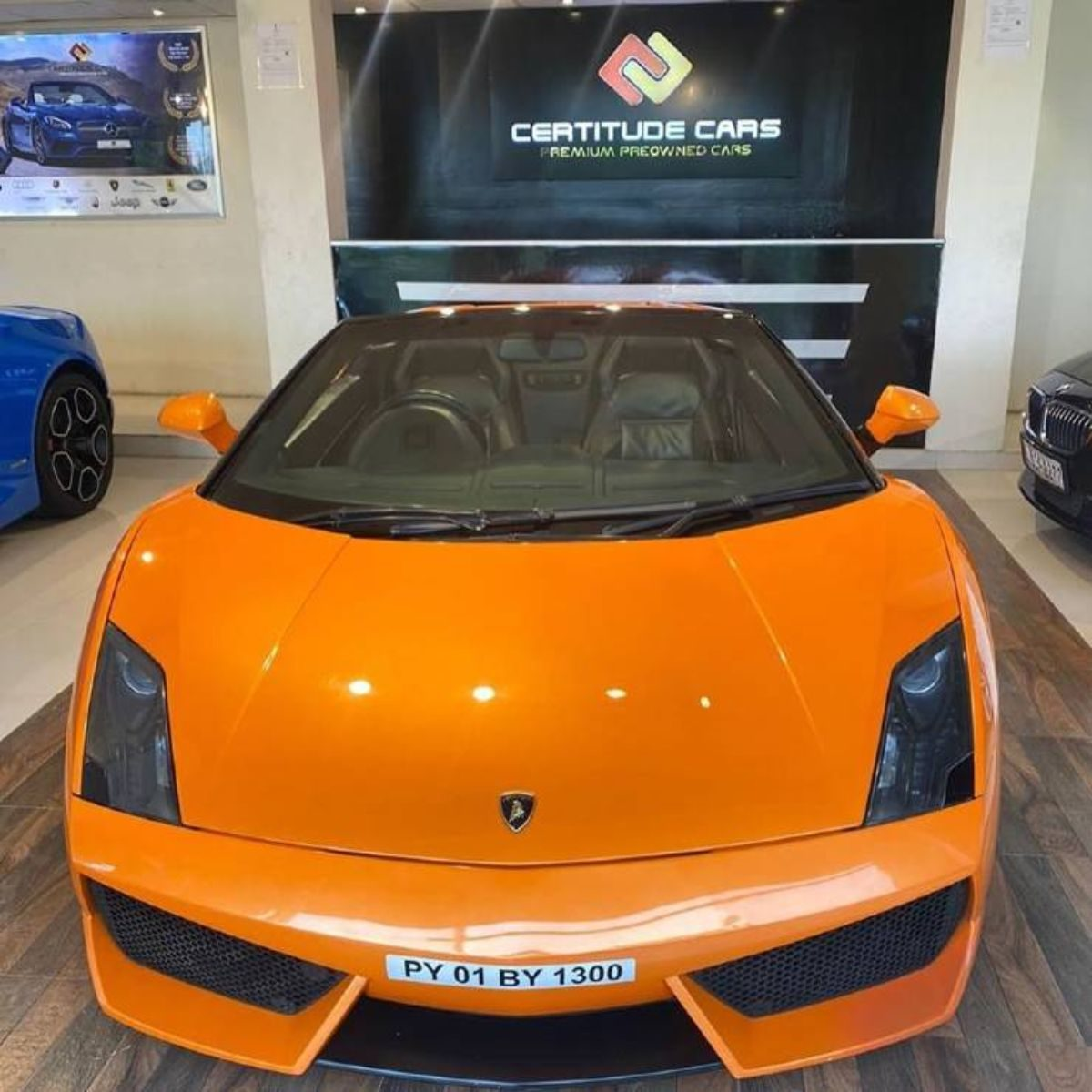 Lamborghini Gallardo_front