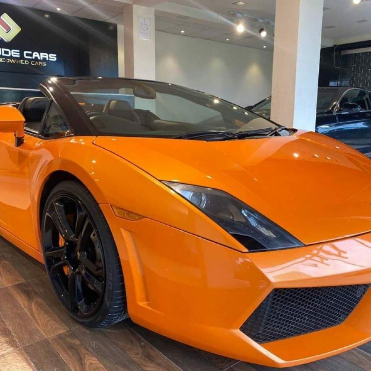 Lamborghini Gallardo_virat kohli