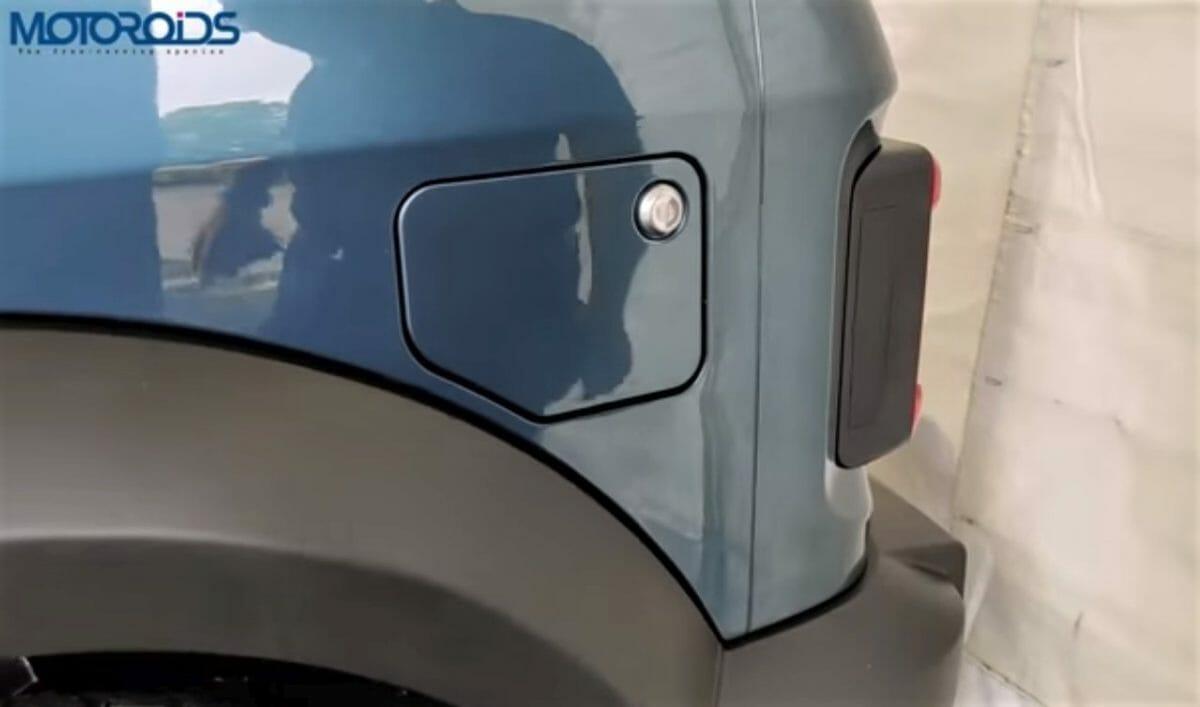 Mahindra Thar Fuel Cap