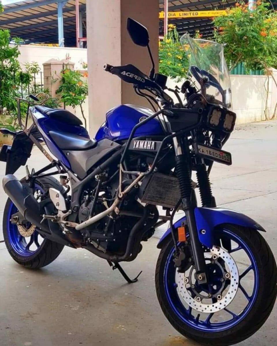 Modified Yamaha R3