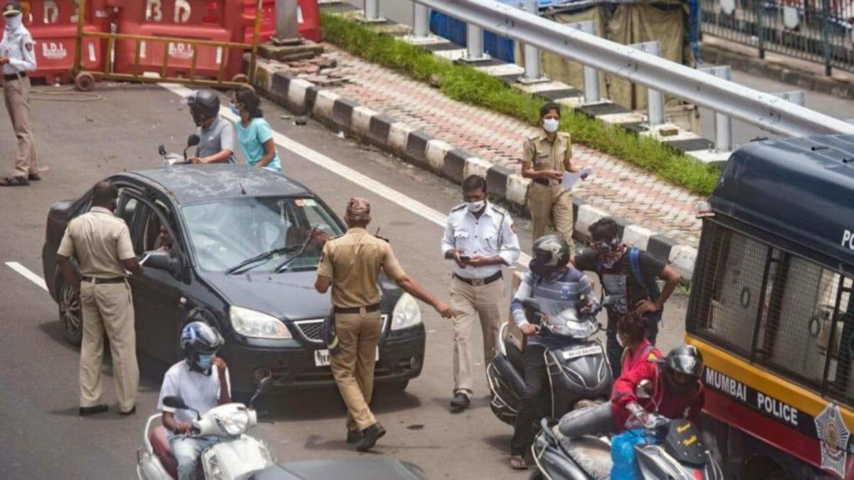 Mumbai Police seized vehicles