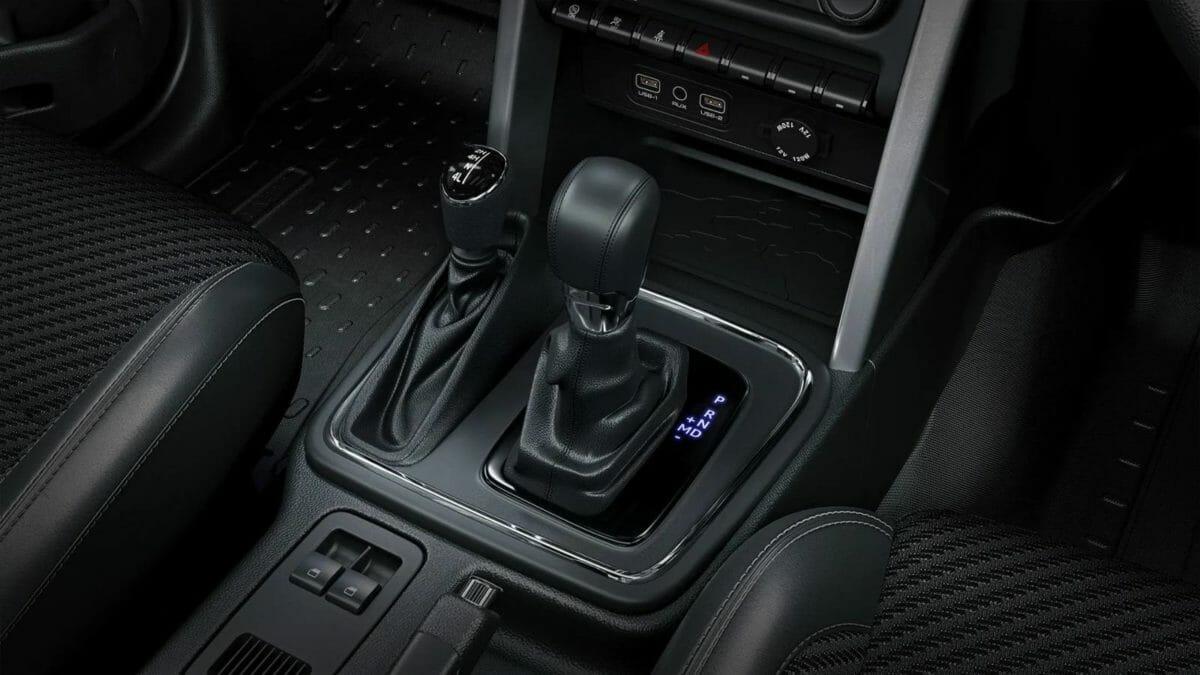 New Mahindra Thar gear lever
