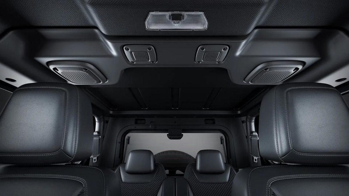 New Mahindra Thar speakers