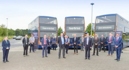 Optare delivers first of 21 battery-electric Metrodecker EV with First Y... (1)