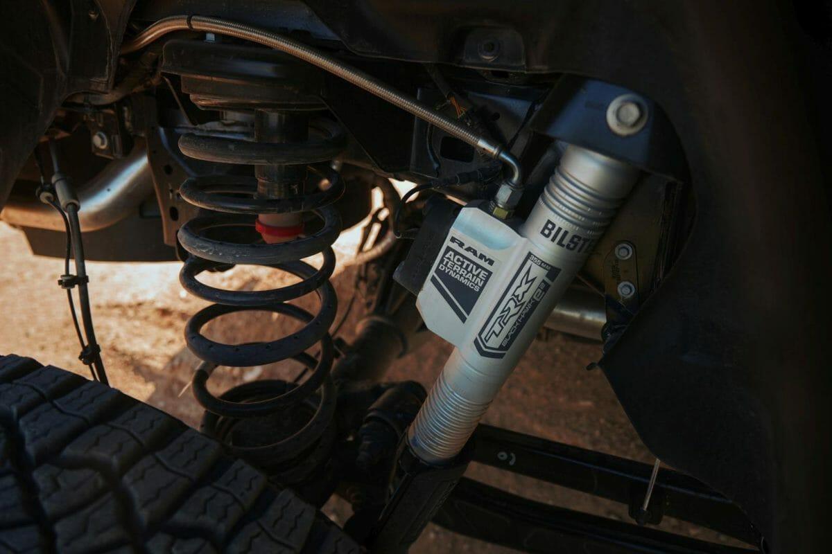 2021 Ram 1500 TRX suspension