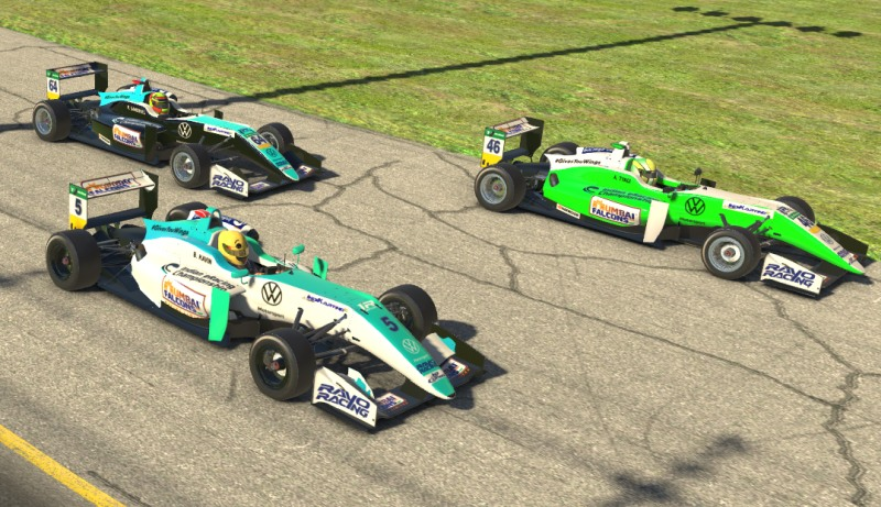 Round 4 of Indian eRacing Championship witnessed close fight amongst competitors