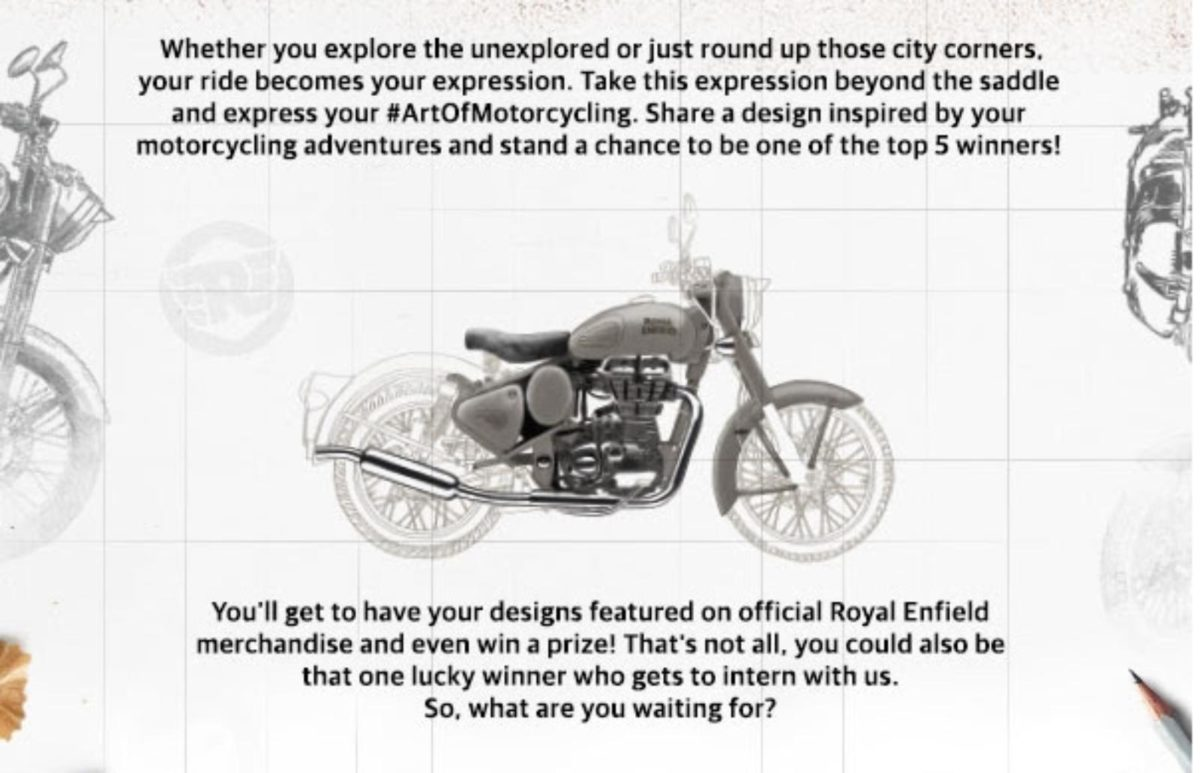 Royal Enfield ArtofMotorcycling Contest (1)