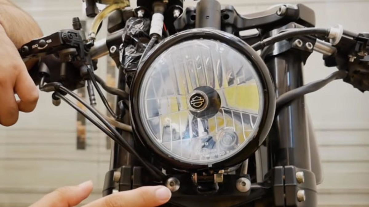 Royal Enfield continental gt 650 cafe racer headlight