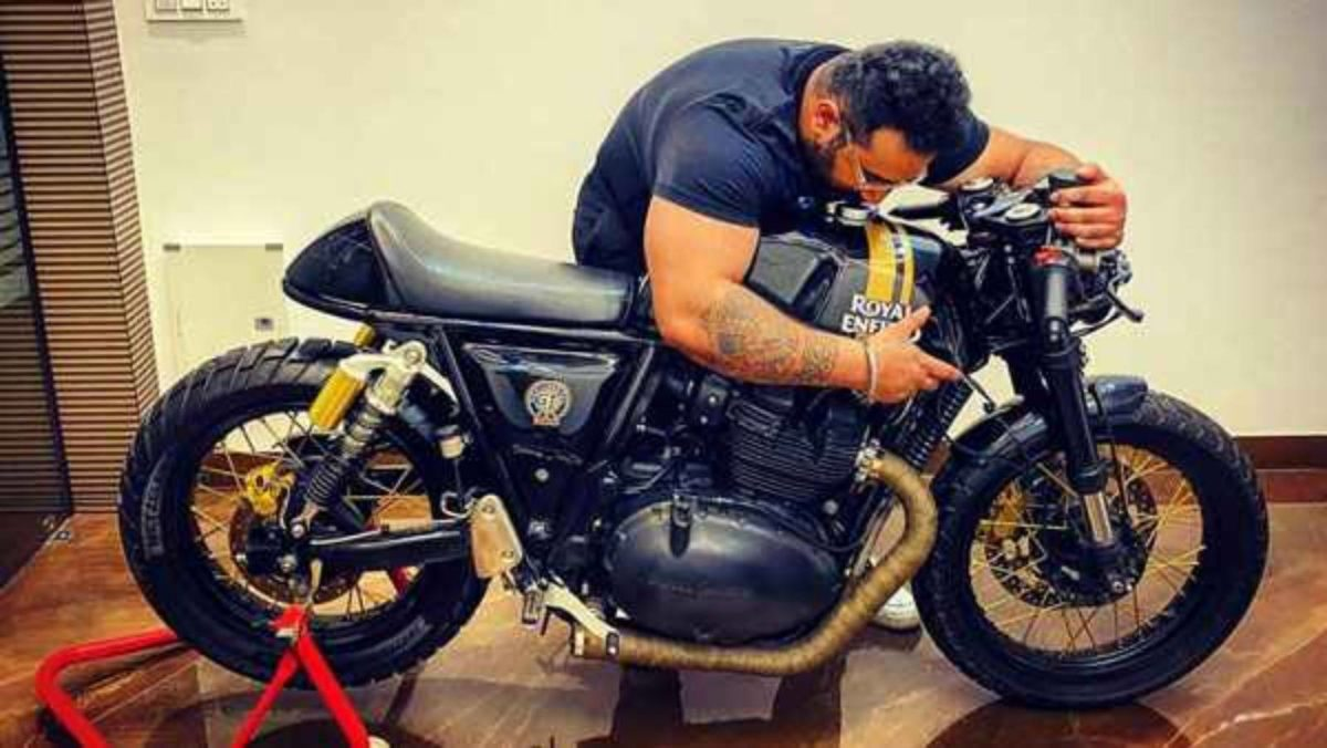 Royal Enfield continental gt 650 cafe racer1