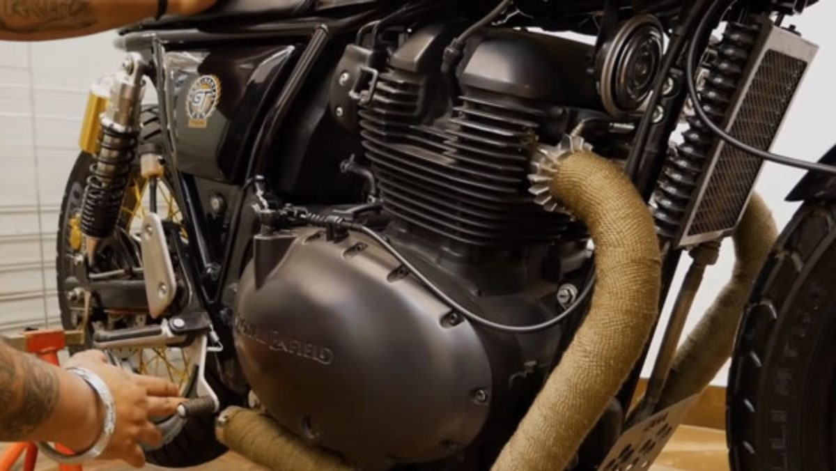 Royal Enfield continental gt 650 modfied engine