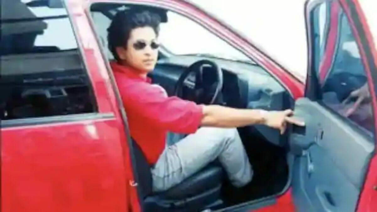 Sachin Tendulkar Maruti 800 (1)