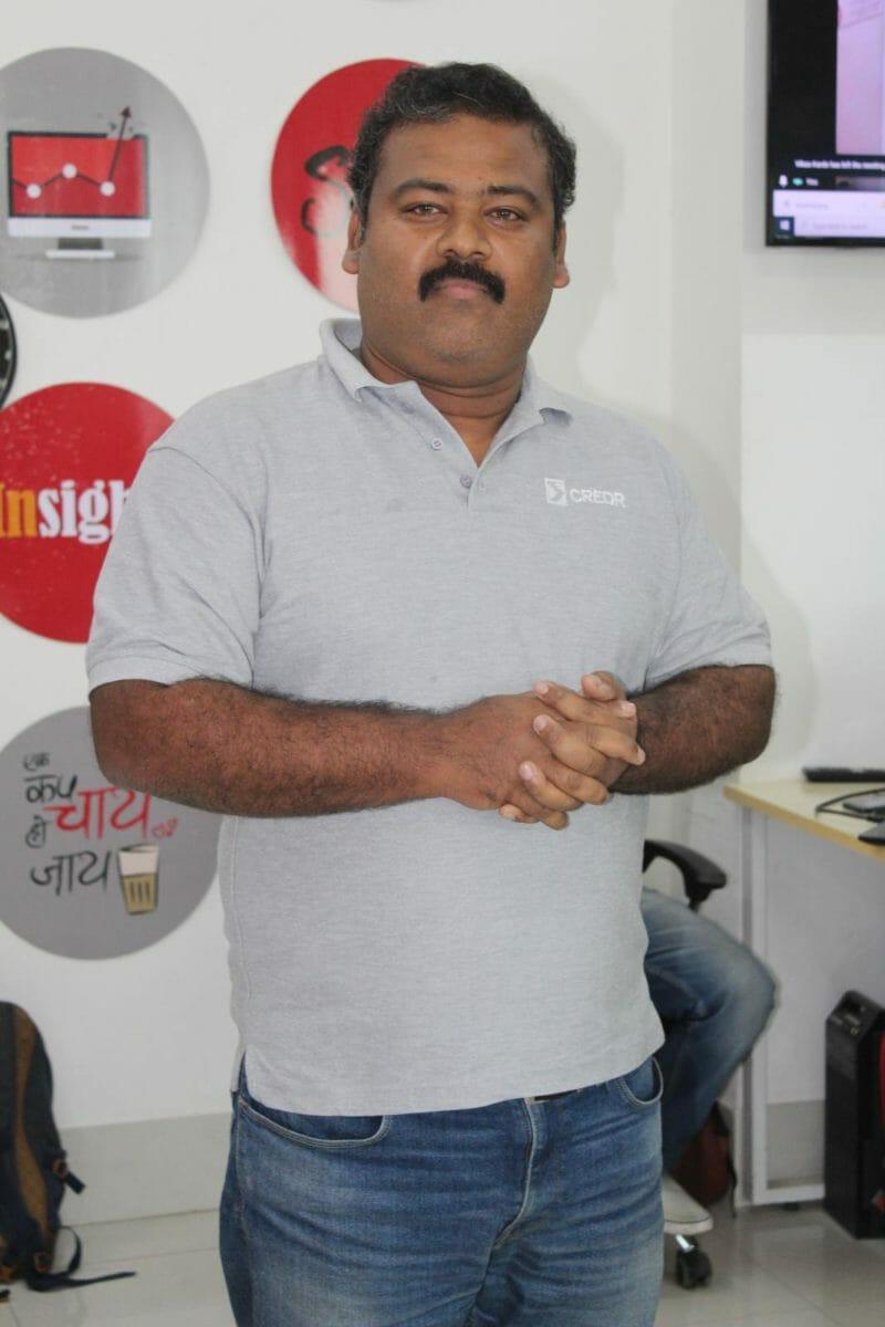 Sasidhar Nandigam CSO – CredR