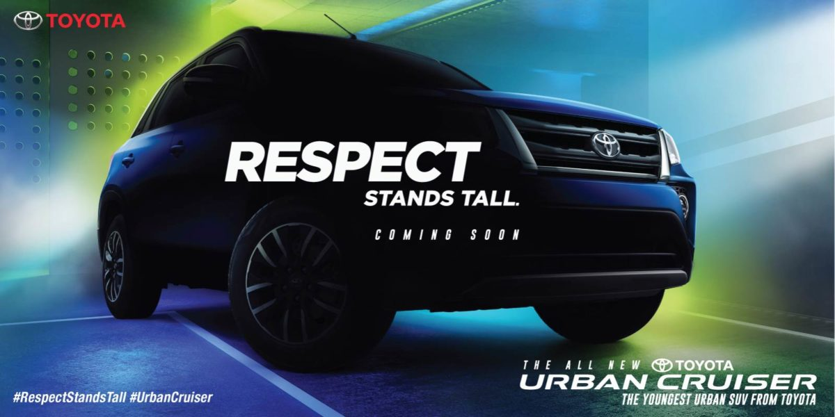 Toyota Urban Cruiser's launch campaign