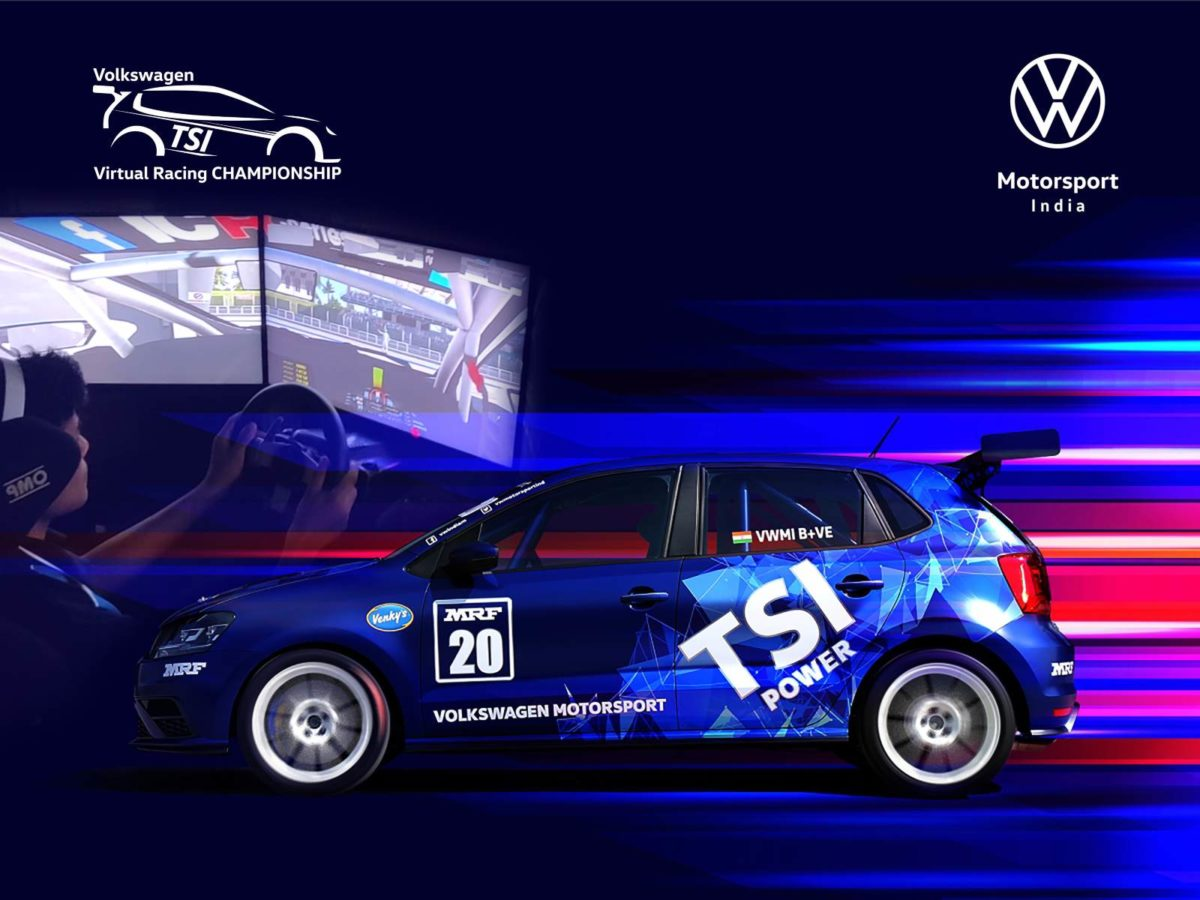 Virtual racing championship volkswagen