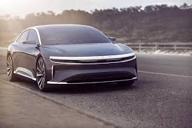 Lucid Unveils Its Electric Air Sedan; Boasts Of 832 km Range, 320 kmph Top Speed