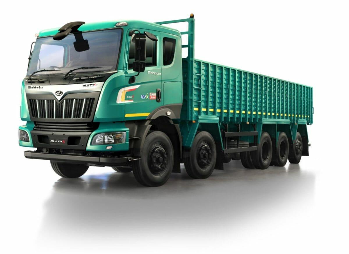 mahindra blazo truck