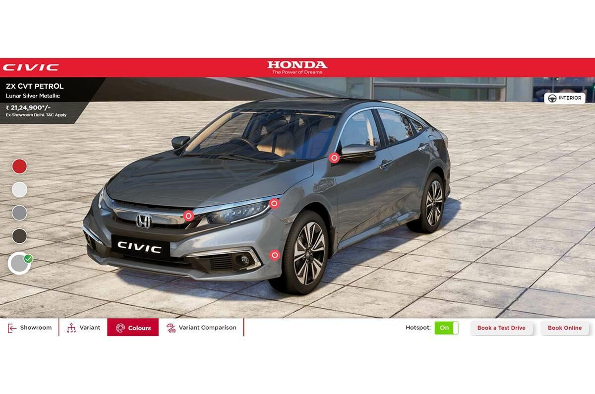 Honda Virtual Showroom 2