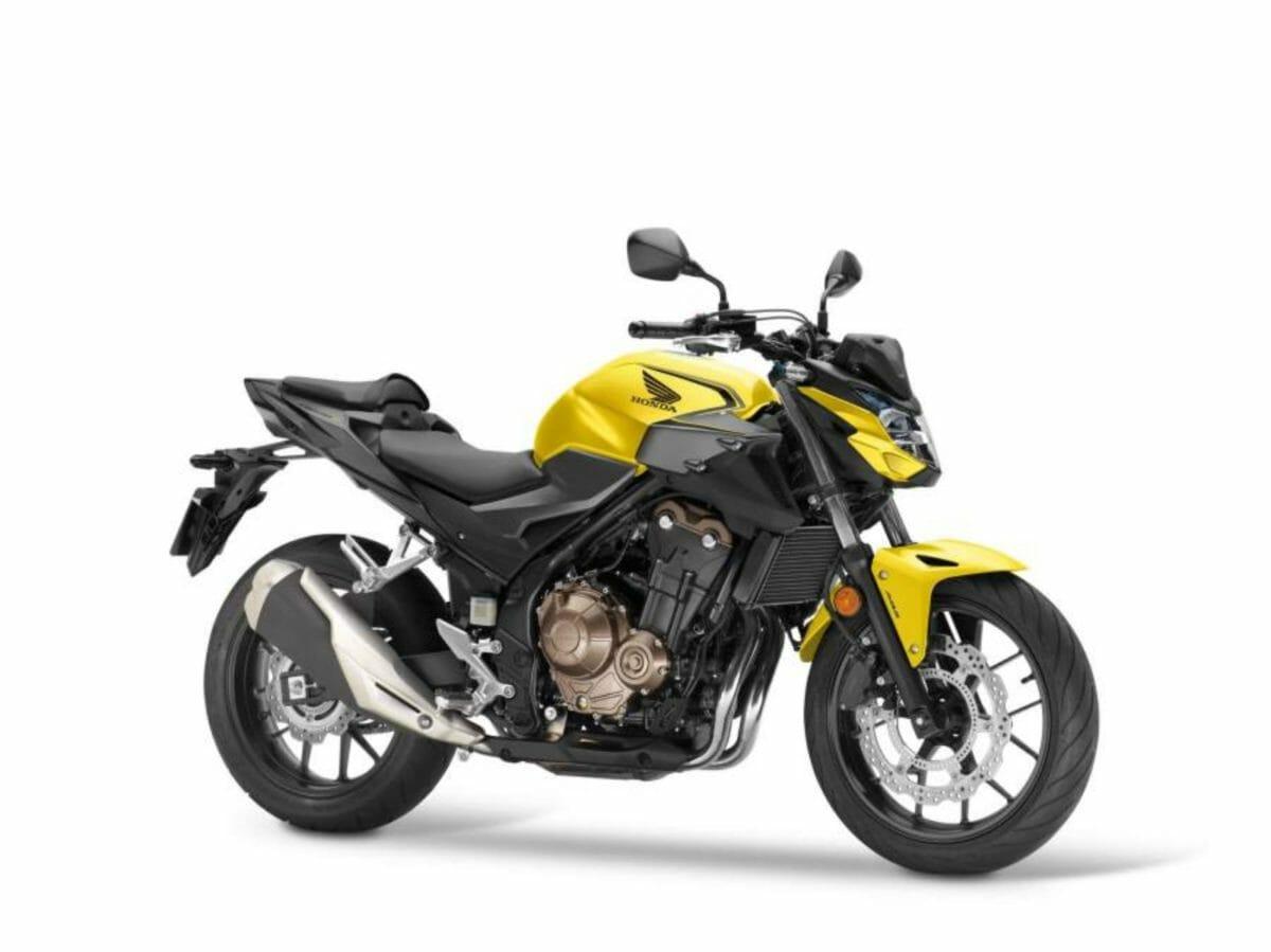 2021 Honda CB500F