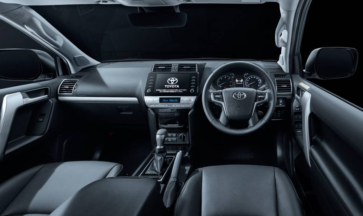 2021 Toyota Land Cruiser Prado Cabin