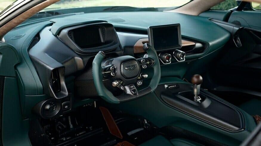 Aston Martin Victor Cabin