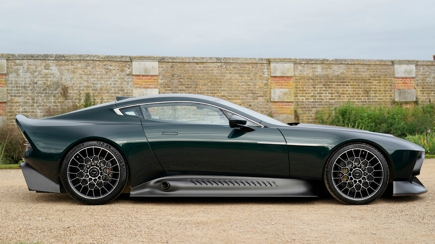 Aston Martin Victor side profile