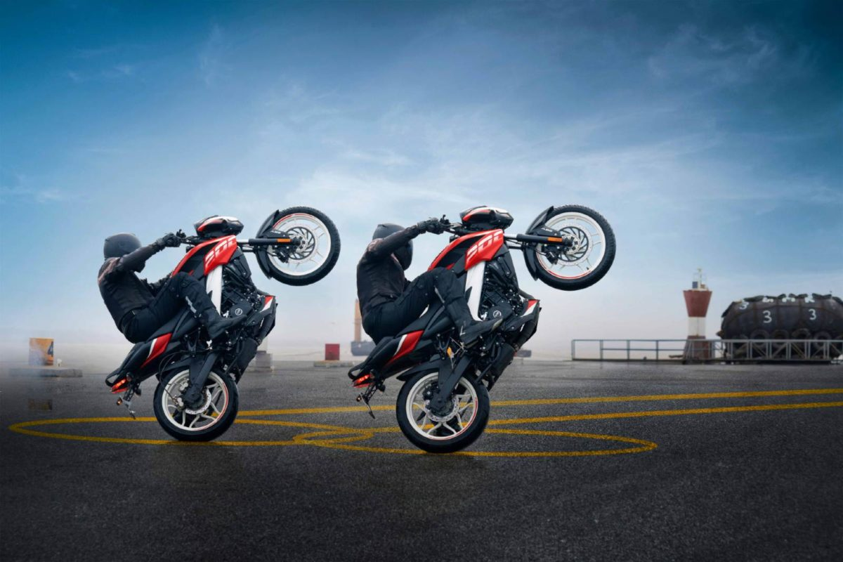 Bajaj Pulsar TVC Circle Wheelies