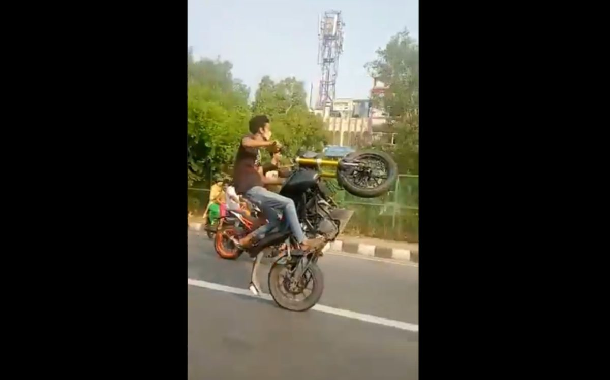 Delhi stunters busted