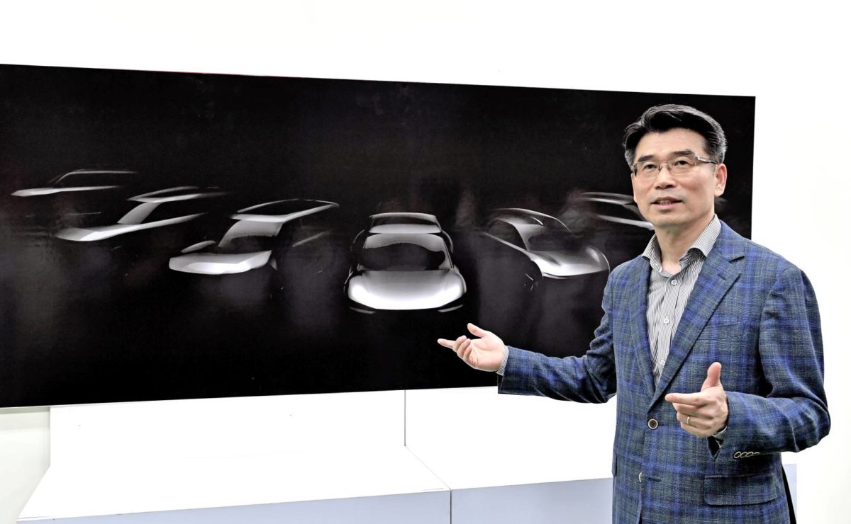 Details of Kia's future EV product strategy were announced by Kia President and CEO Ho Sung Song during an event at the brand's Hwasung plant in Korea.