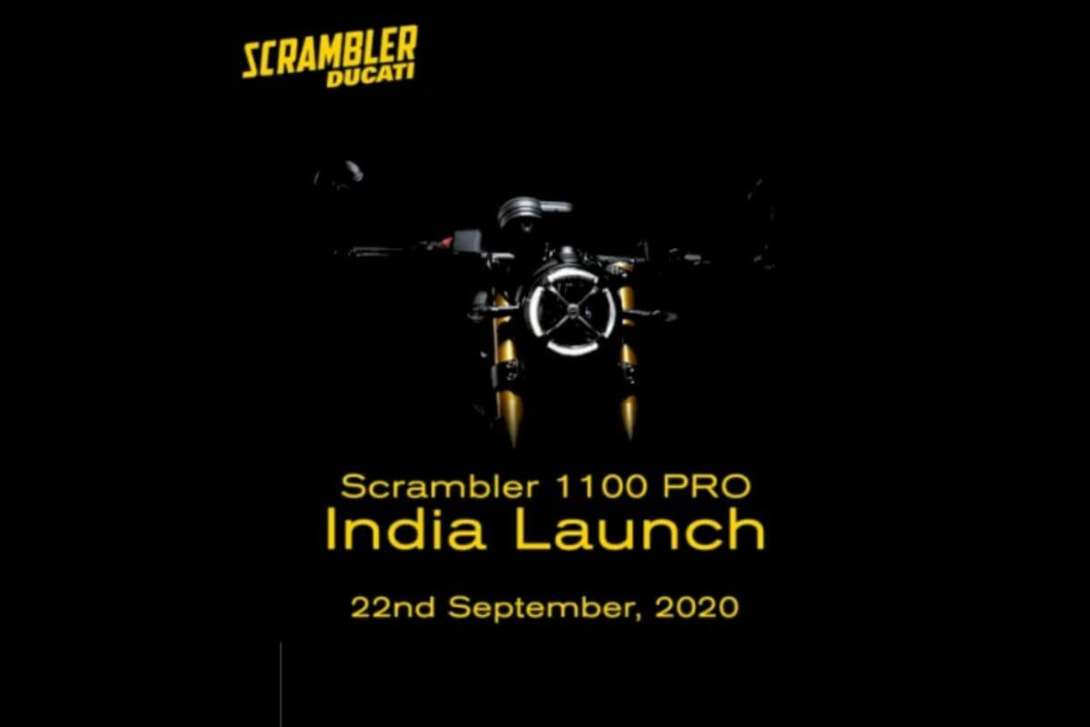 Ducati Scrambler 1100 Pro Teased
