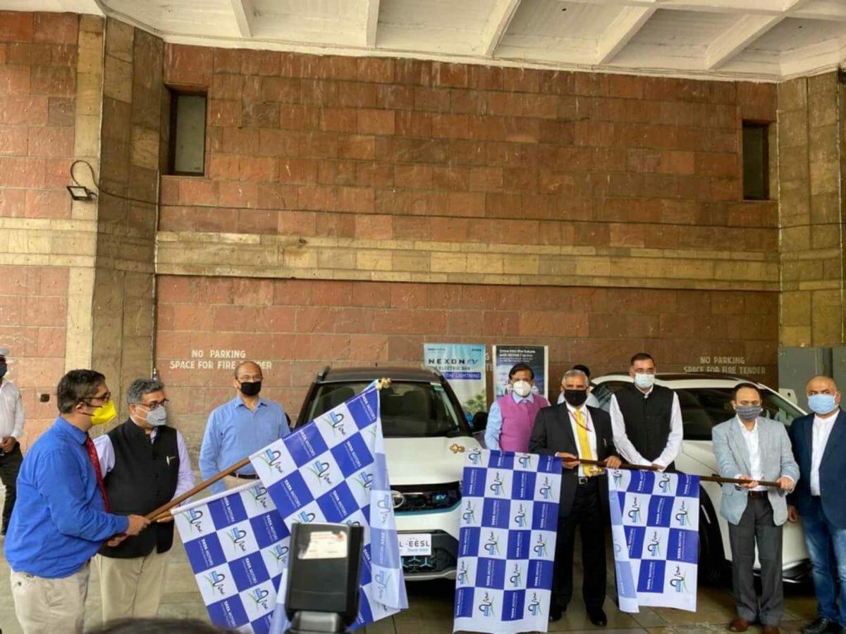 EESL Tata Nexon Hyundai Kona Electric Vehicle